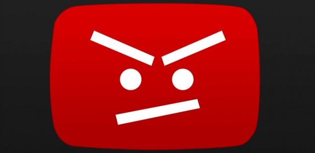 YouTube-Enfadado